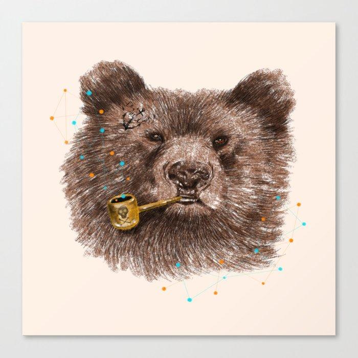 Sailor Bear II Canvas Print