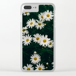 The Daisies Clear iPhone Case
