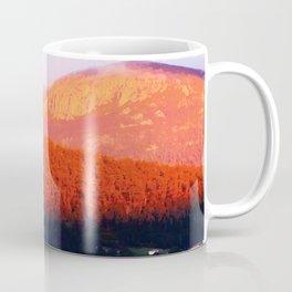 Dawn on Mt Wellington Coffee Mug