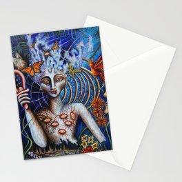 Butterfly Prophecy by Nefertara Stationery Cards