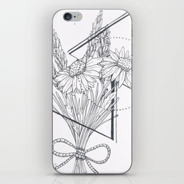 Daisies and Lavender iPhone Skin