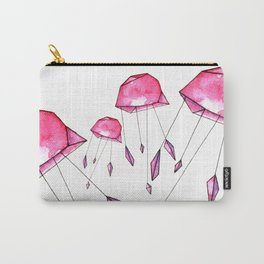 Geometric jellyfish Carry-All Pouch
