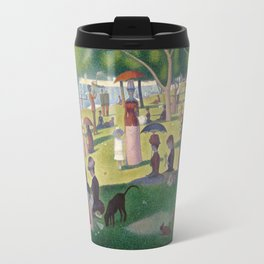 Georges Seurat - A Sunday Afternoon on the Island of La Grande Jatte Travel Mug