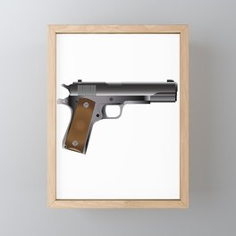45 Automatic Framed Mini Art Print