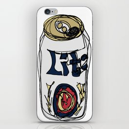 Miller Lite Can iPhone Skin