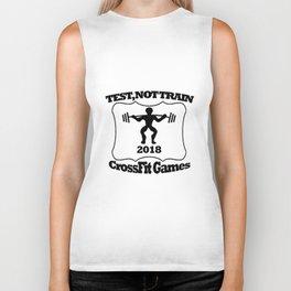 tes no train Biker Tank