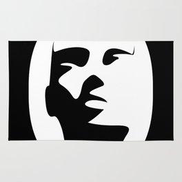 Woman - inside the O Rug