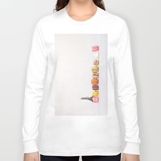 Paris, macarons and the eiffel tower Long Sleeve T-shirt