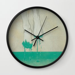 Out of the mud Wall Clock
