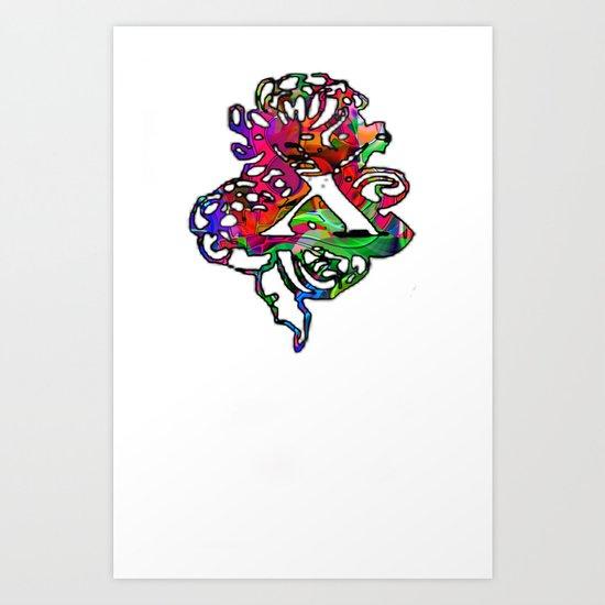 X Chi Art Print