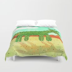 Cactus Unicorn Duvet Cover
