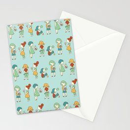 Candy girls Stationery Cards