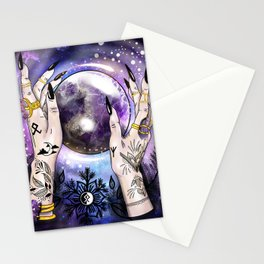 Witch Hands Stationery Cards