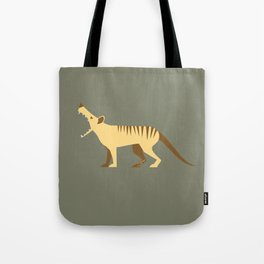 EXTINCT: Thylacine (Tasmanian Tiger) Tote Bag