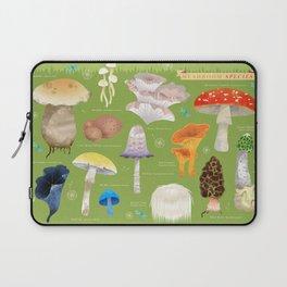 Mushroom Species Laptop Sleeve