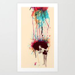 Colorblind Art Print