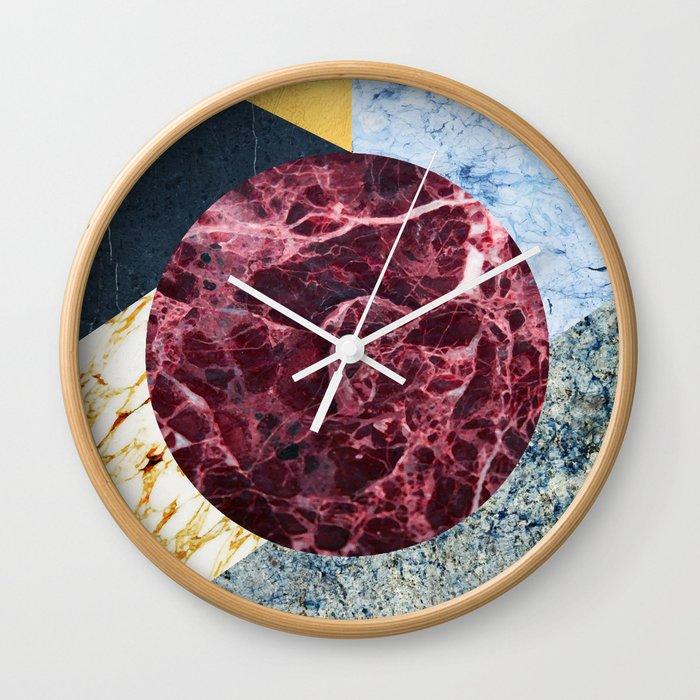 Marble Ecstasy | #society6 #decor #buyart Wall Clock