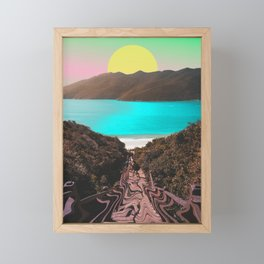 Tropical Vibes Framed Mini Art Print