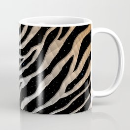 Ripped SpaceTime Stripes - Bronze/White Coffee Mug