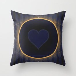 Pluto - The Heart Throw Pillow