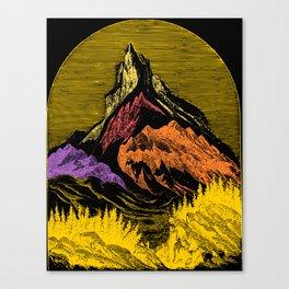 The Acid Peak of Tempests Canvas Print