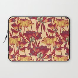 Tulips in Forever Golden Laptop Sleeve