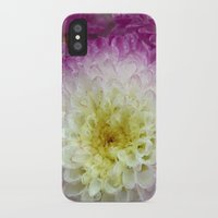 dahlia iPhone & iPod Cases featuring dahlia by blackpool