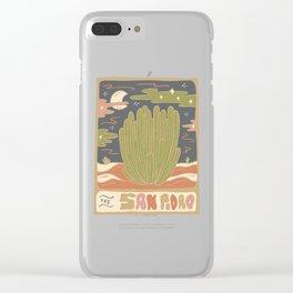 Cactus Tarot Cards- San Pedro Clear iPhone Case