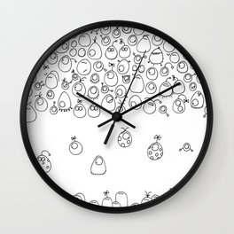 Munnen - Journey Wall Clock