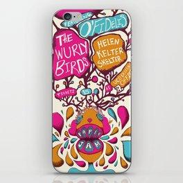 Paper Jam Poster iPhone Skin