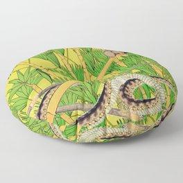 Oṃ maṇi padme hūṃ Floor Pillow