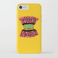 grease iPhone & iPod Cases featuring The Grease That Moves The Industry by Chris Piascik