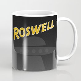 Aliens Over Roswell Coffee Mug