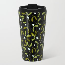 Rustic Mistletoe Travel Mug