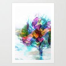 Winter Love 2 Art Print