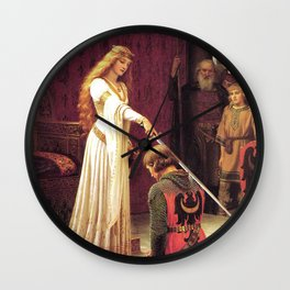 Knight of Excalibur Wall Clock
