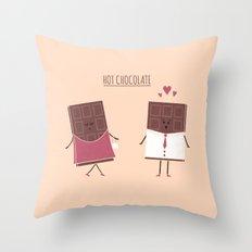 Hot Chocolate Throw Pillow
