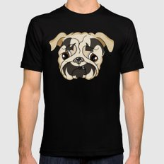 Puggalo SMALL Black Mens Fitted Tee