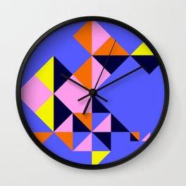 Arabic Triangles Wall Clock