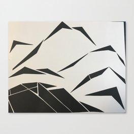 When Mountains Move - B Canvas Print