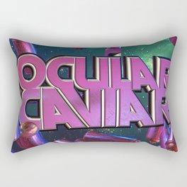 Ocular Caviar Logo Sting Rectangular Pillow