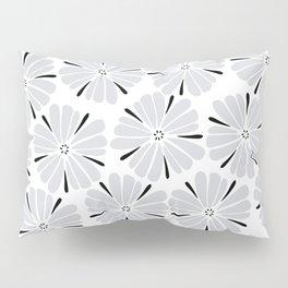 easy living cool grey flowers Pillow Sham
