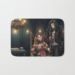 Vampire Feast Commission Bath Mat