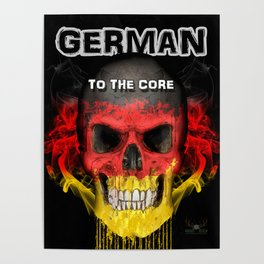 To The Core Collection: Germany Poster