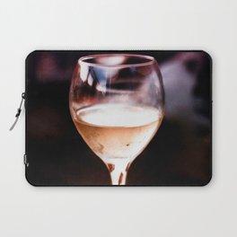 Wine Glass Reflection Laptop Sleeve