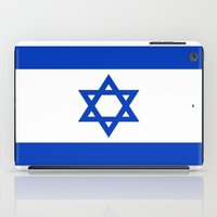 israel iPad Cases featuring Flag of Israel by Neville Hawkins