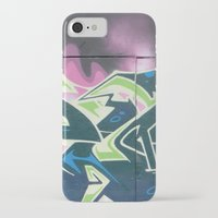 graffiti iPhone & iPod Cases featuring Graffiti by Chrissy Gensch