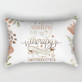 A LITTLE READING Rectangular Pillow