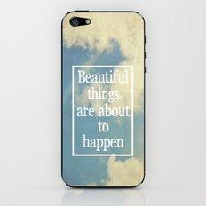 Beautiful Things  iPhone & iPod Skin