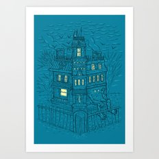 Is It Halloween Yet? Art Print
